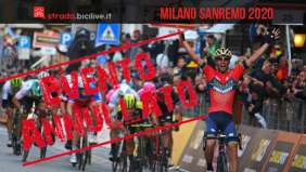 Milano-Sanremo 2020: annullata per Coronavirus la 111esima edizione