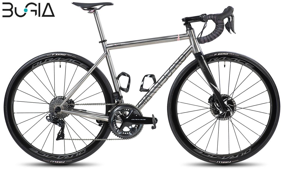 Una bici BuGia Rosa 2020