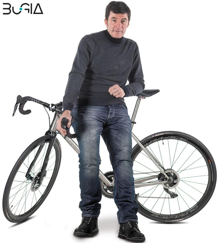 La Bici BuGia Rosa e Gianni Bugno 2020