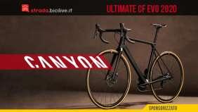 Canyon Ultimate CF Evo SL 2020: la nuova generazione ad alte prestazioni