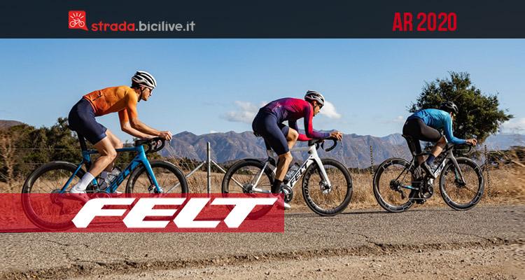 Felt AR: dagli States la nuova bici aerodinamica