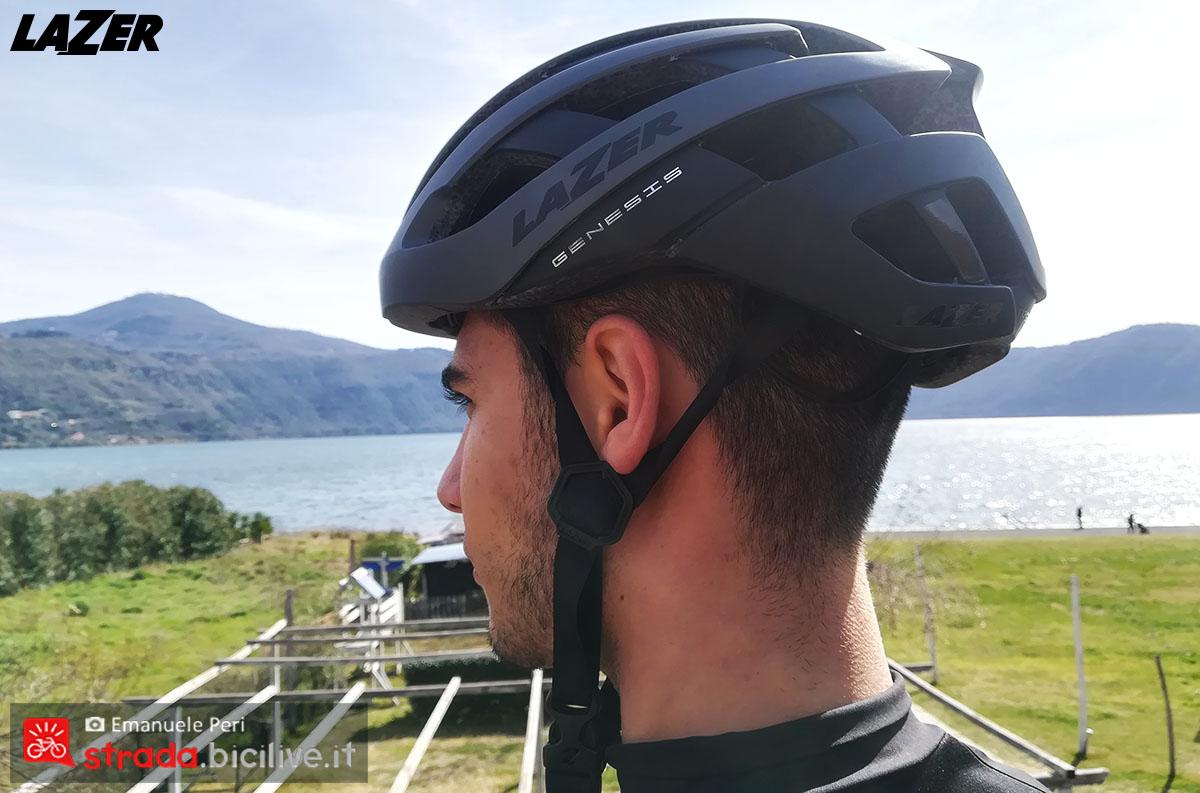 Il test del casco Lazer Genesis indossato