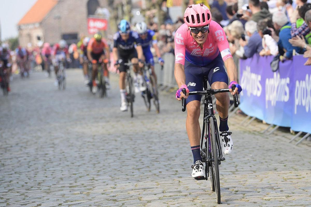L'attacco decisivo di Alberto Bettiol al Giro delle Fiandre 2019