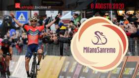 Milano-Sanremo 2020: l'8 agosto la 111esima edizione