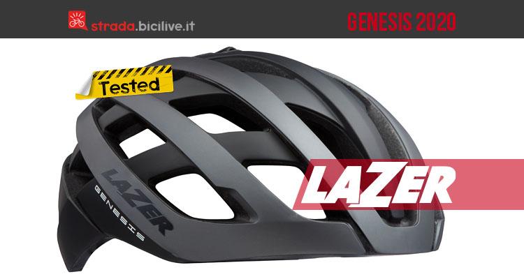 Il test del casco strada Lazer Genesis: ultraleggero e sicuro