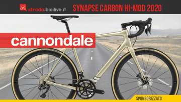 Cannondale Synapse Carbon Hi-MOD Disc Ultegra Di2: pensata per l'endurance