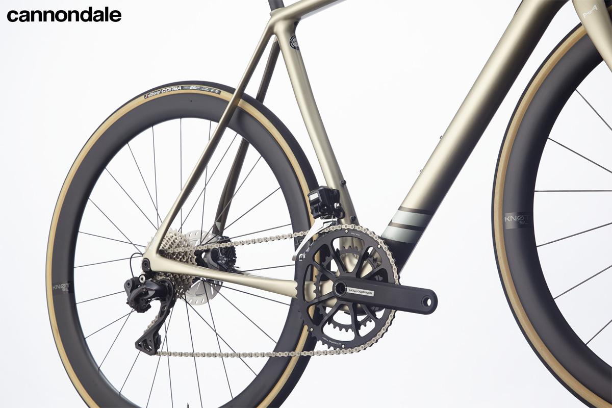 Il gruppo trasmissione elettronico Shimano equipaggiato sulla Cannondale Synapse Carbon Hi-MOD Disc Ultegra Di2 2020