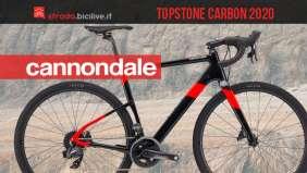 Cannondale Topstone Carbon Force eTap AXS 2020: bici gravel