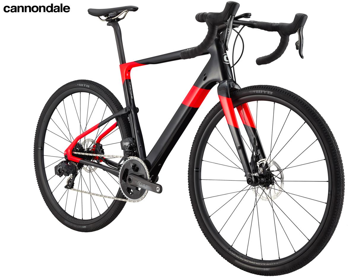 Una bici per il gravel Cannondale Topstone Carbon Force eTap AXS 2020
