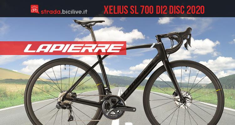 Lapierre Xelius SL 700 Di2 Disc Ultimate 2020: bici carbonio