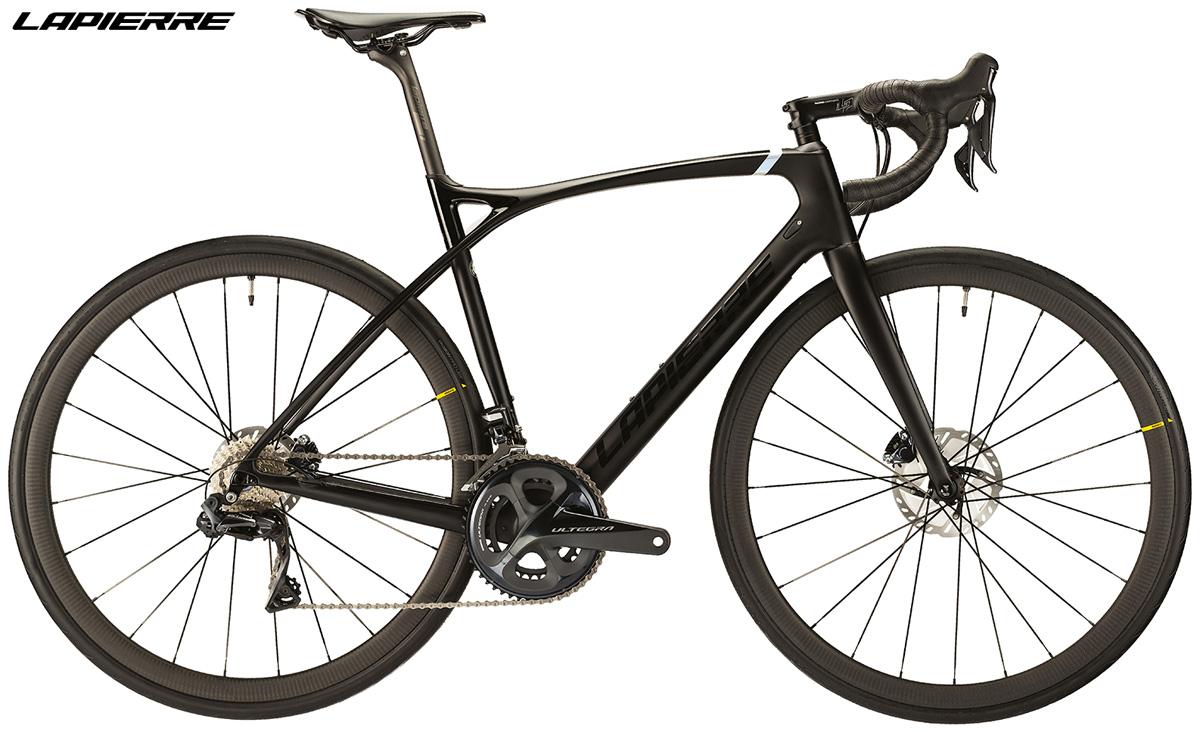 Una bici da corsa Lapierre Xelius SL 700 Di2 Disc Ultimate 2020 vista di lato