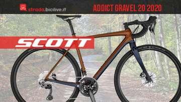 Nuova Scott Addict Gravel 20: studiata appositamente per l'offroad