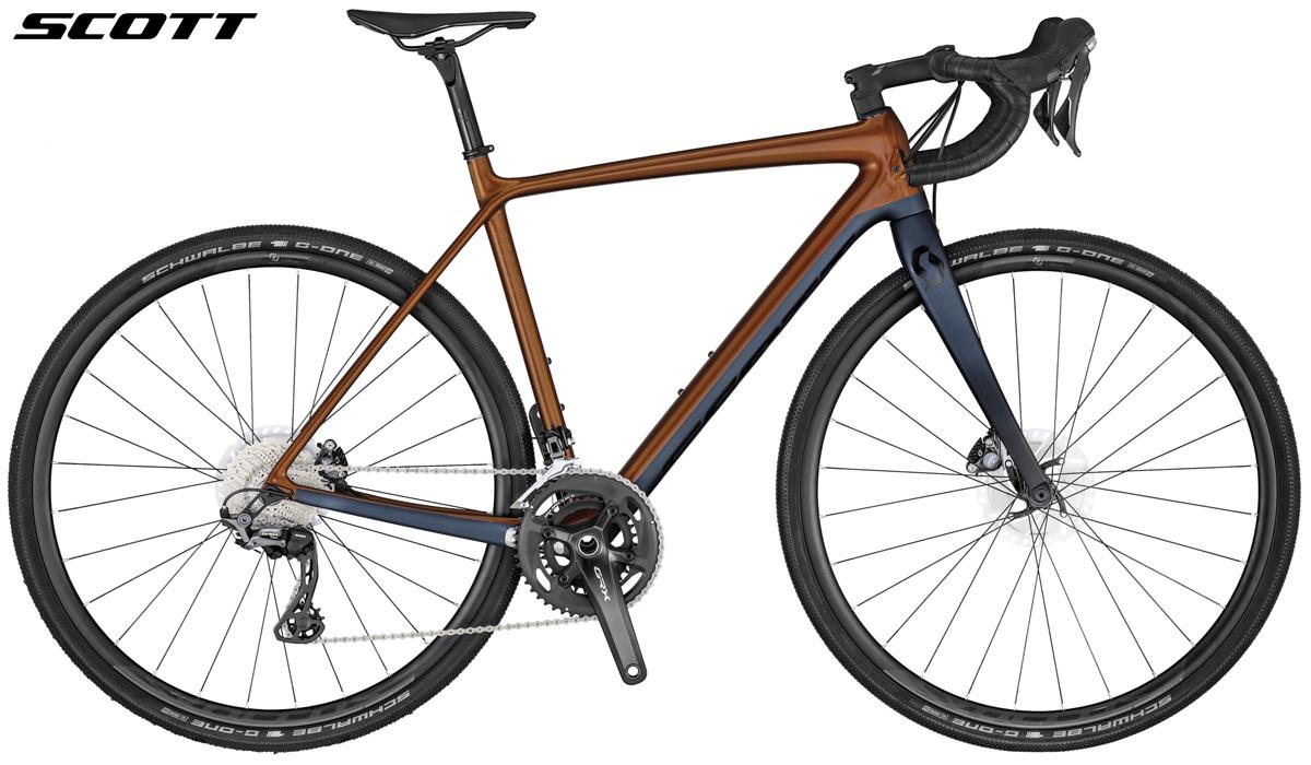 Una bicicletta per tutte le superfici Scott Gravel Addict 20 gamma 2020
