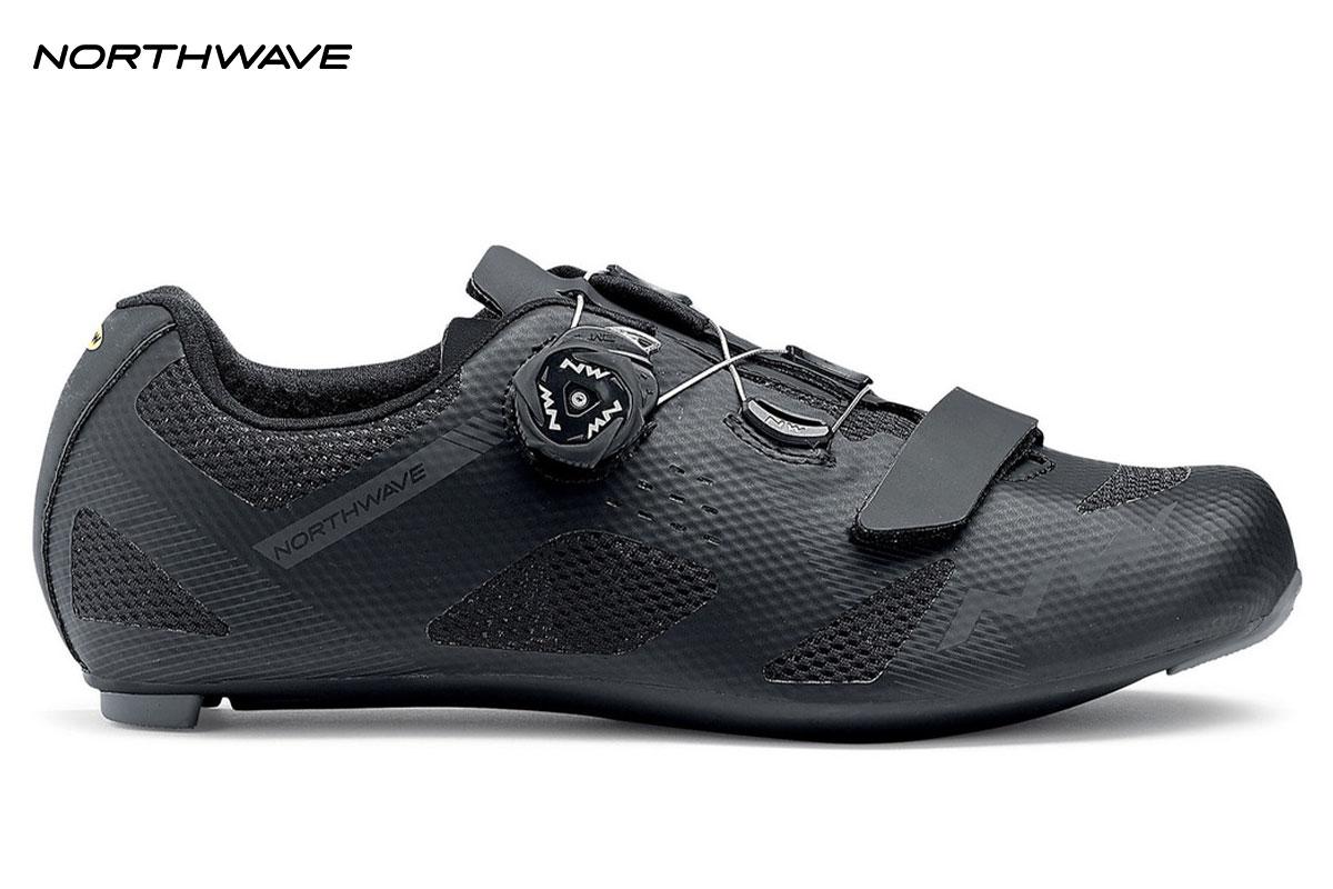scarpa northwave storm nera di profilo