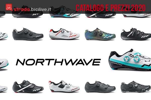 Le scarpe per bici strada e triathlon di Northwave: catalogo e prezzi 2020