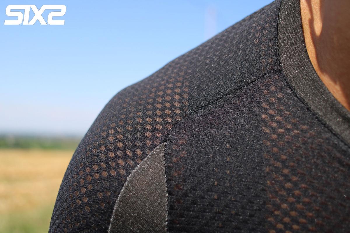 Dettaglio della maglietta da ciclismo SIXS Serra Jersey