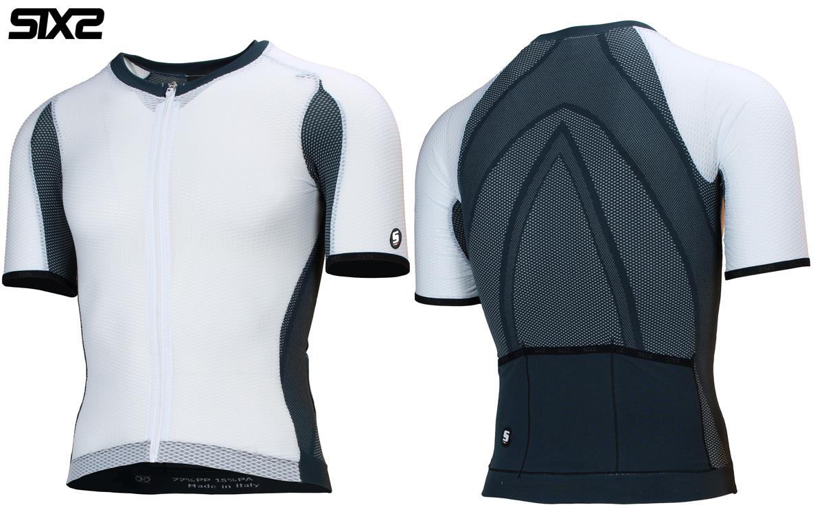 La maglia estiva per il ciclismo SIXS Serra Jersey in versione White