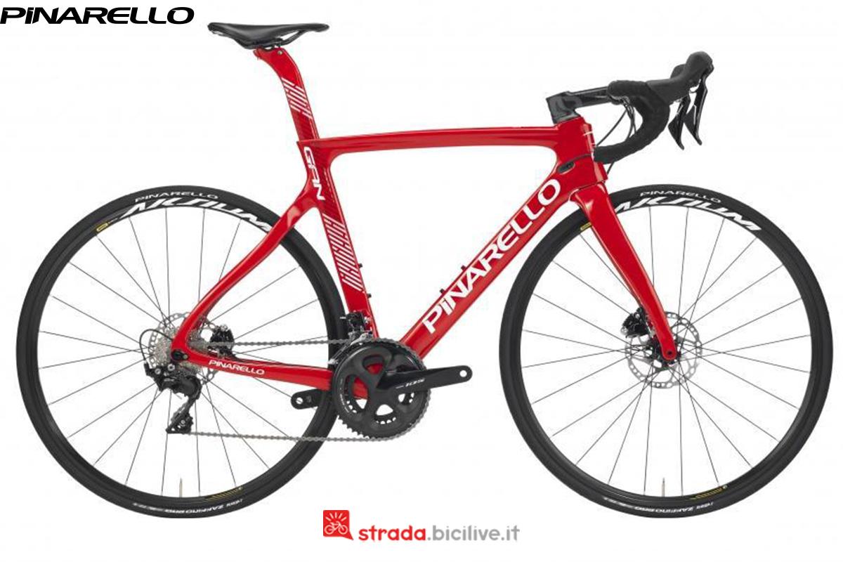 Una bicicletta Pinarello Gan Disk dal catalogo 2020