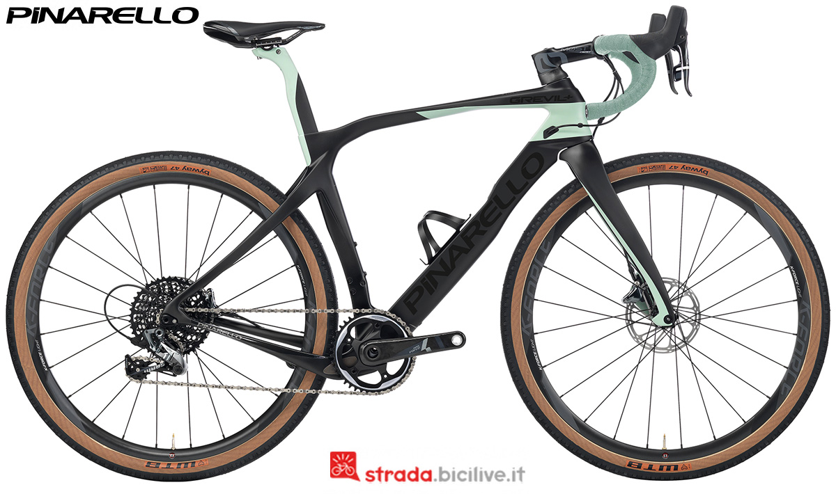 Una bicicletta gravel Pinarello Grevil+ dalla gamma 2020