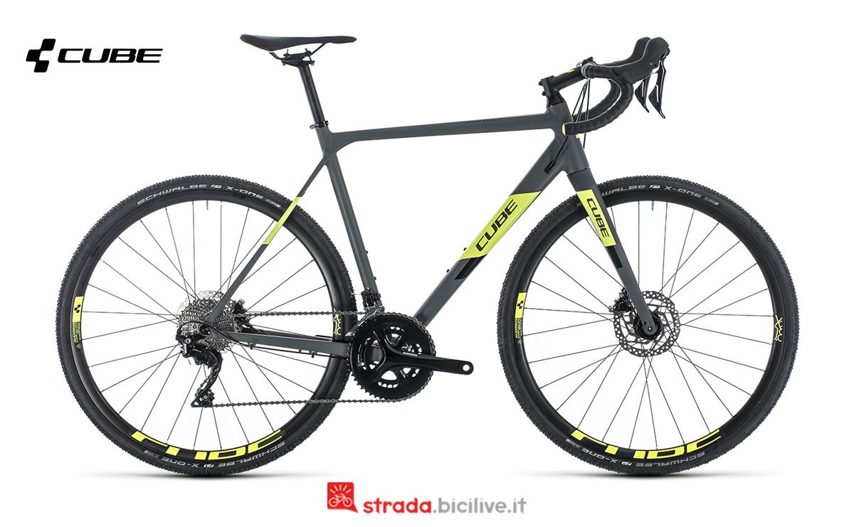 Una bicicletta Cube Cross Race Pro della gamma 2020