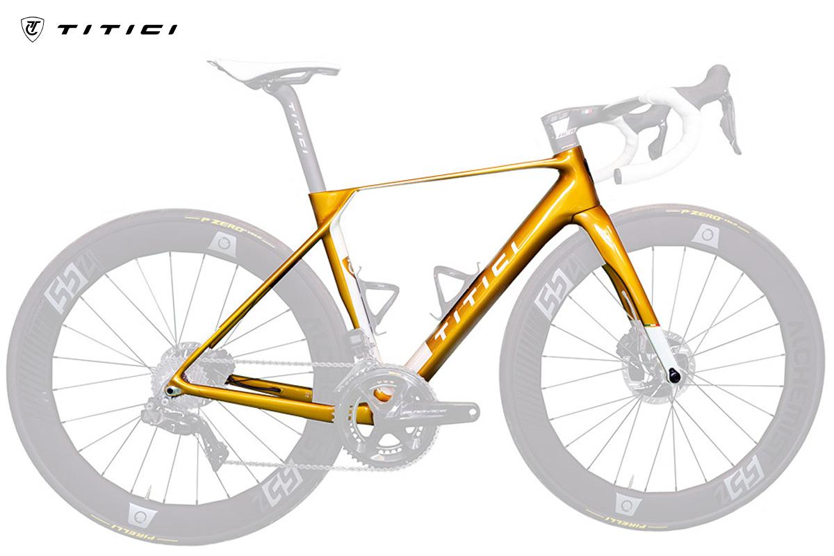 Nuovo telaio bici da corsa Titici F-RI02