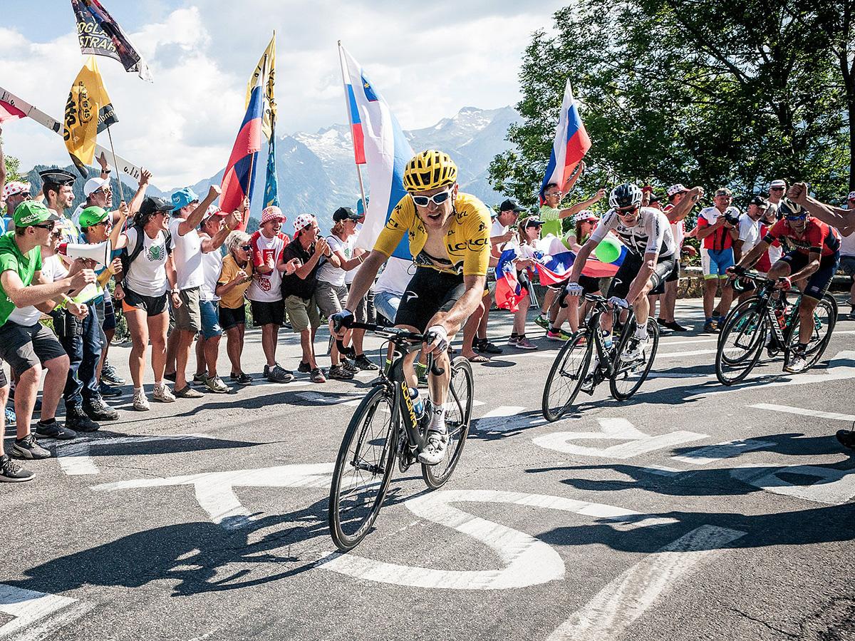 Fotografia di una precedente edizione del Tour de France