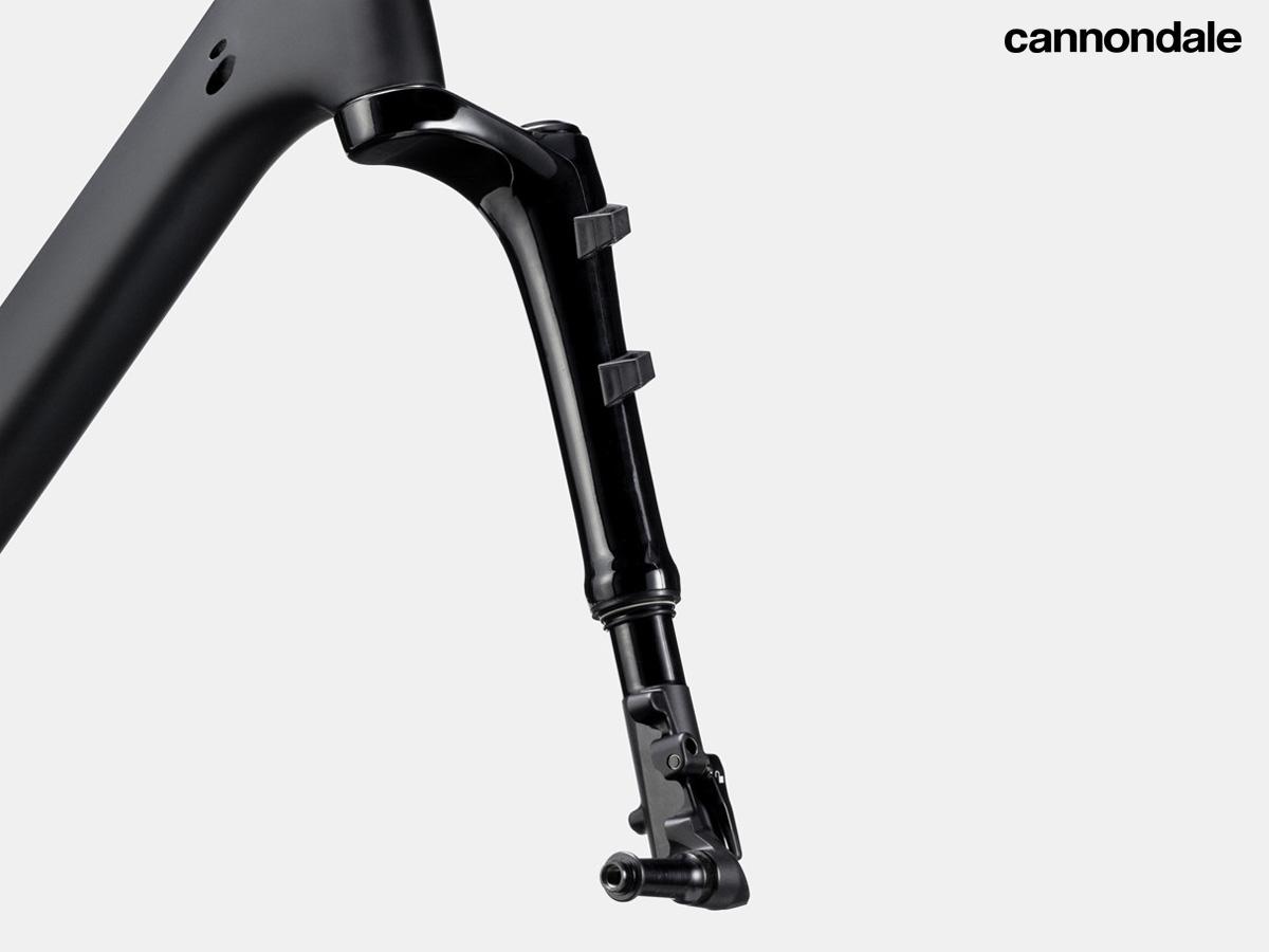 La nuova forcella Lefty Oliver equipaggiata sulla Cannondale Topstone Carbon