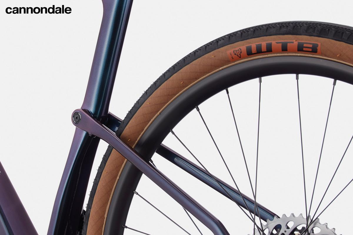 La sospensione Kingpin della bici gravel Cannondale Topstone Carbon Lefty Oliver 1