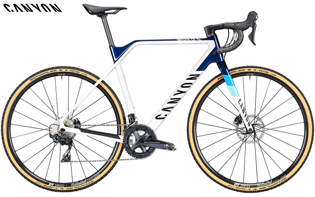 Bici da ciclocross Canyon Inflite CF SL 7 con gruppo Shimano Ultegra