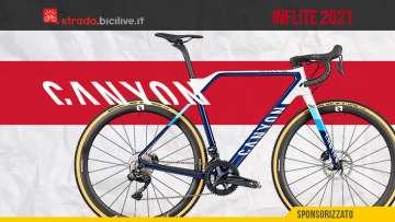 Nuova bicicletta da ciclocross Canyon Inflite 2021