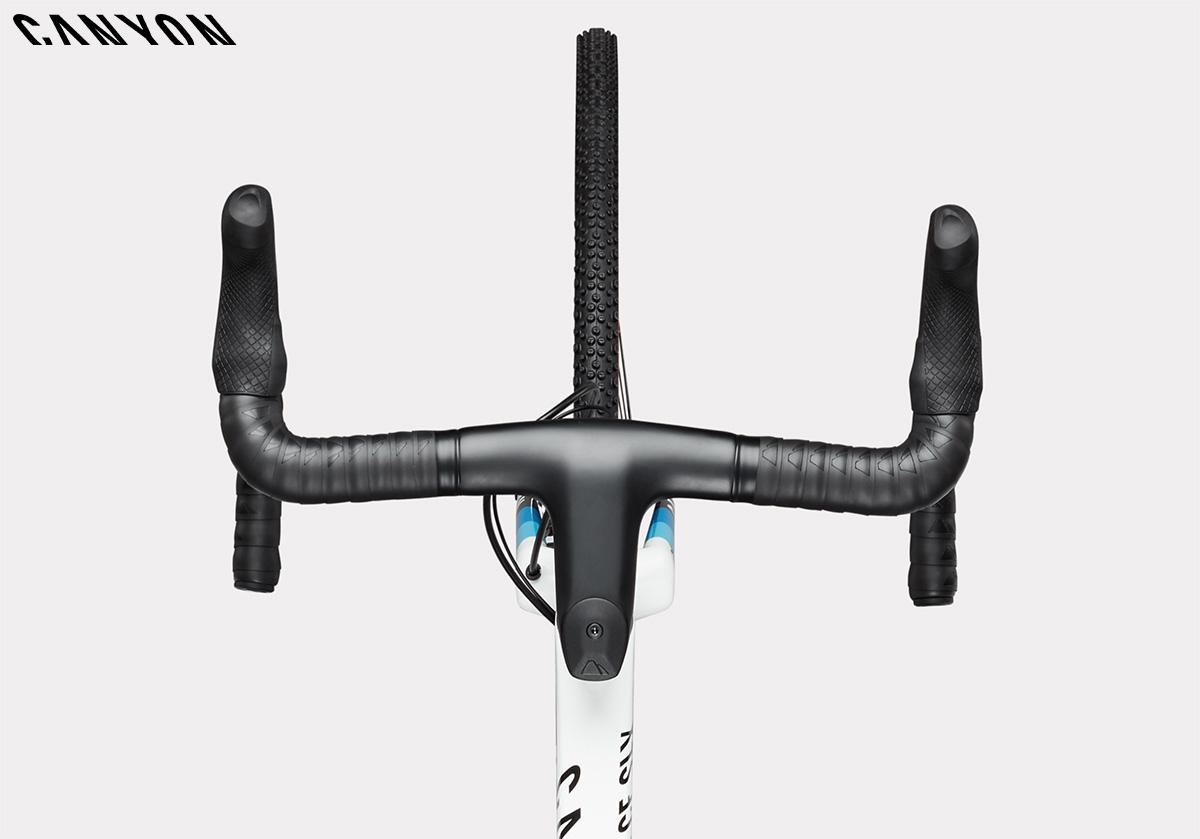Manubrio innovativo della bicicletta da ciclocross Canyon Inflite 2021
