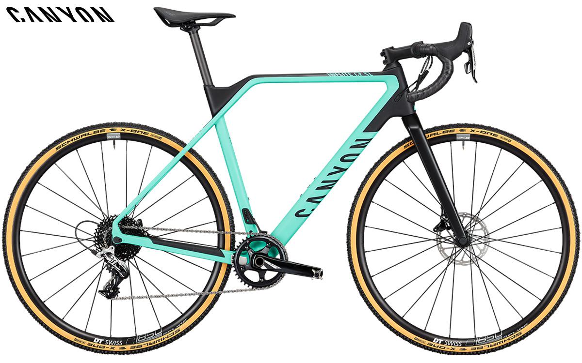 Bicicletta da ciclocross Canyon Inflite CF SL 6 con gruppo SRAM Rival 1 GS