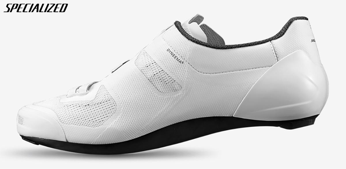 Visione laterale interna della nuova scarpa per bici da strada Specialized S-works Vent 2020