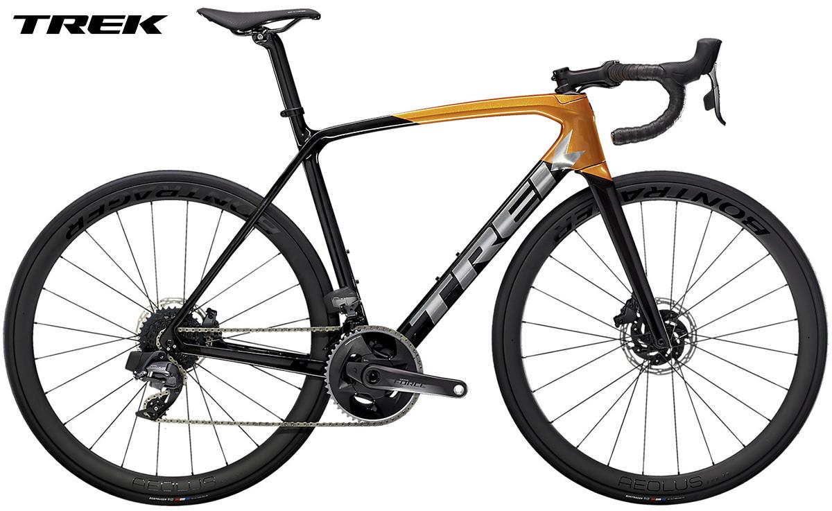 Bicicletta da strada Trek Emonda SL 7 gamma 2021 con cambio SRAM eTap