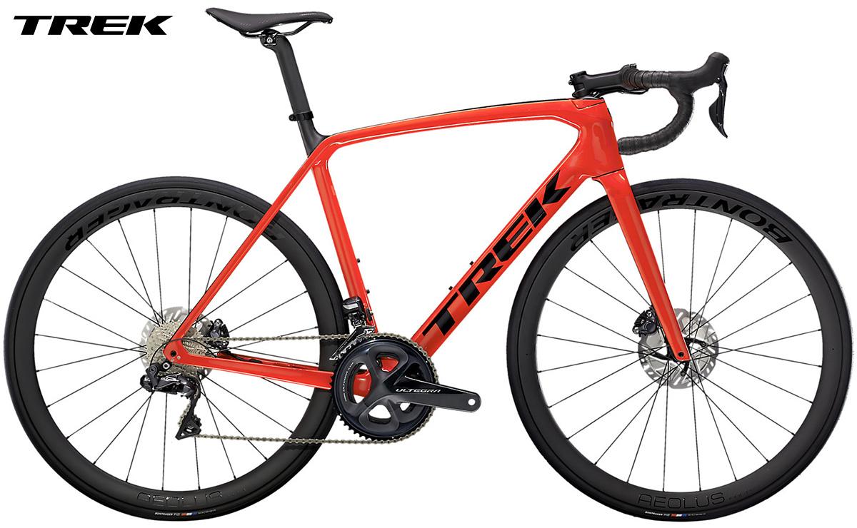 Bicicletta da strada Trek Emonda SL 7 gamma 2021 con cambio Shimano Ultegra