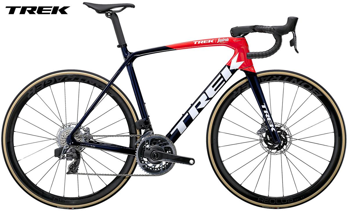 Bicicletta da strada Trek Emonda SLR 9 gamma 2021 con cambio SRAM Red eTap