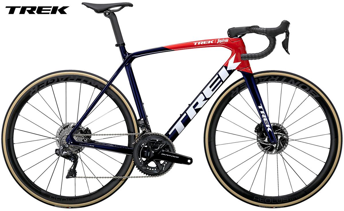 Bicicletta da strada Trek Emonda SLR 9 gamma 2021 con cambio Shimano Dura-Ace