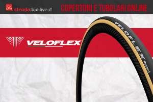 Copertoncini per bicicletta tubolari, aperti e ready Veloflex
