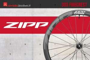 Nuova ruota per bicicletta da strada Zipp 303 Firecrest 2020