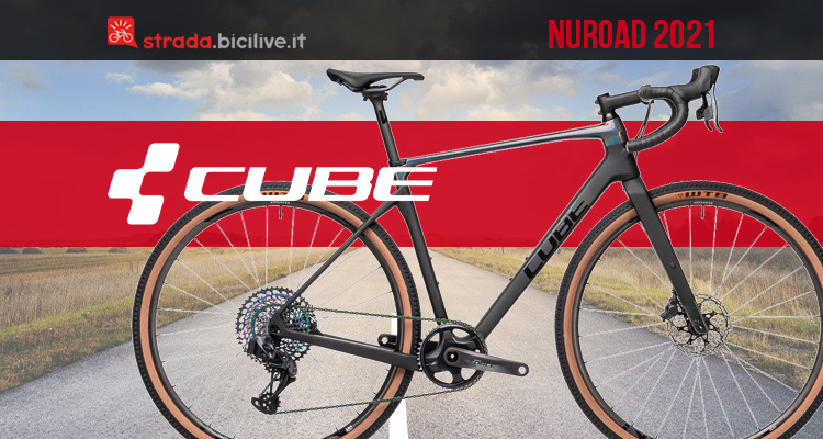 Nuova linea di bici da strada Cube Nuroad 2021