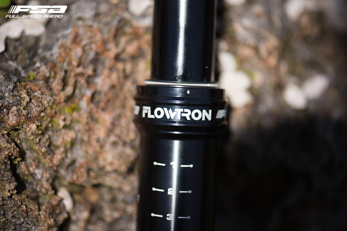 Reggisella telescopico per bici gravel FSA Flowtron AGX 2020