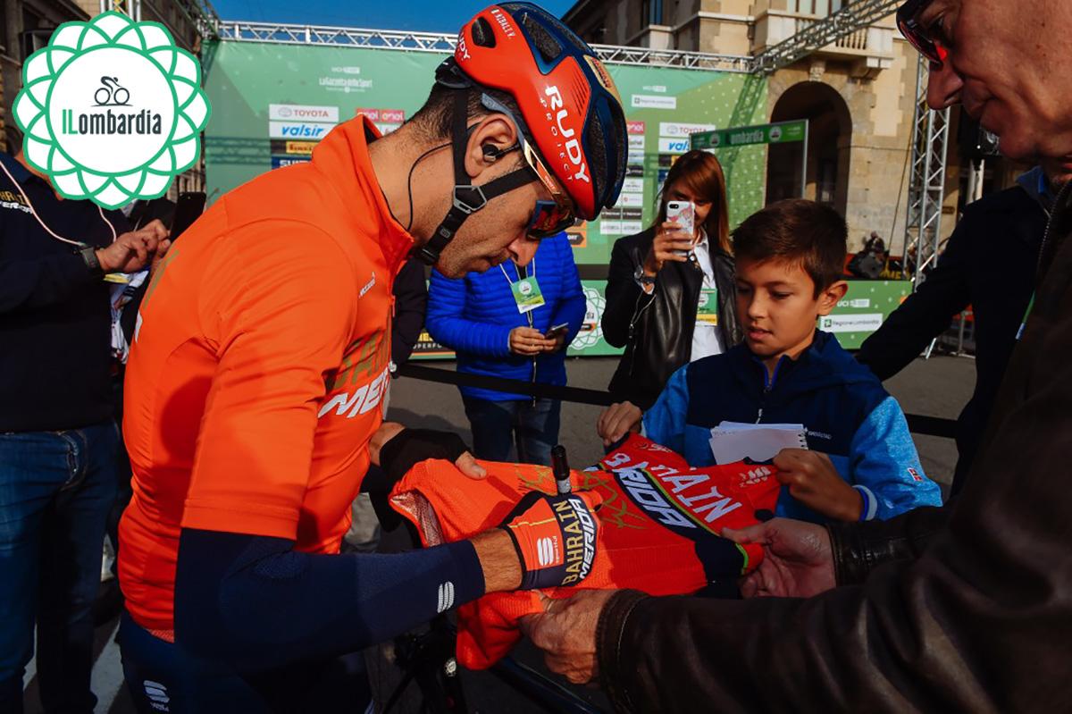Vincenzo Nibali durante la scorsa edizione del Giro di Lombardia