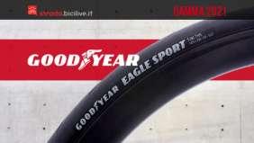 La nuova gamma 2021 dei copertoni per bicicletta da strada Goodyear