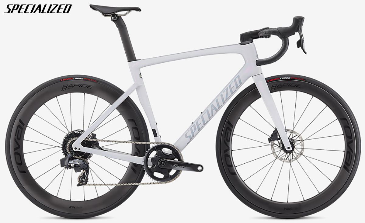bici da gara Specialized Pro Tarmac SL7 2021 con gruppo SRAM Force eTap AXS
