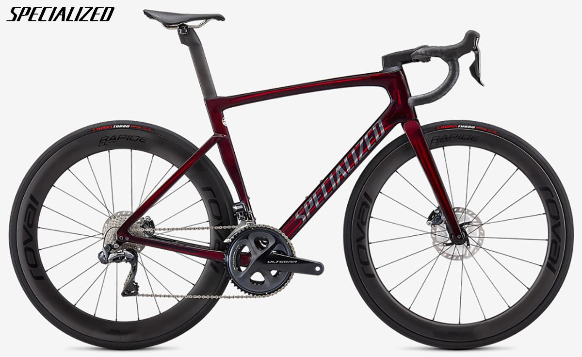 Bicicletta da gara Specialized Pro Tarmac SL7 2021 con cambio Shimano Ultegra Di2