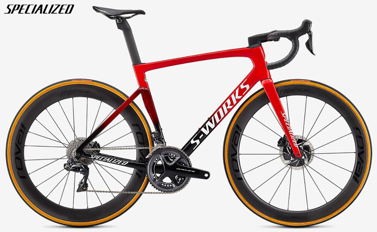 Bici da gara Specialized S-Works Tarmac SL7 2021 con cambio Shimano Dura-Ace Di2