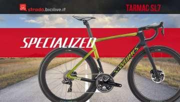 Nuove bici da competizione Specialized Tarmac SL7 2020