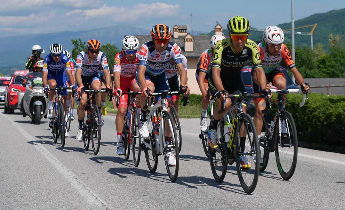 Scatto durante una precedente edizione del Giro D'Italia