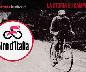 La storia e i campioni del Giro D'Italia