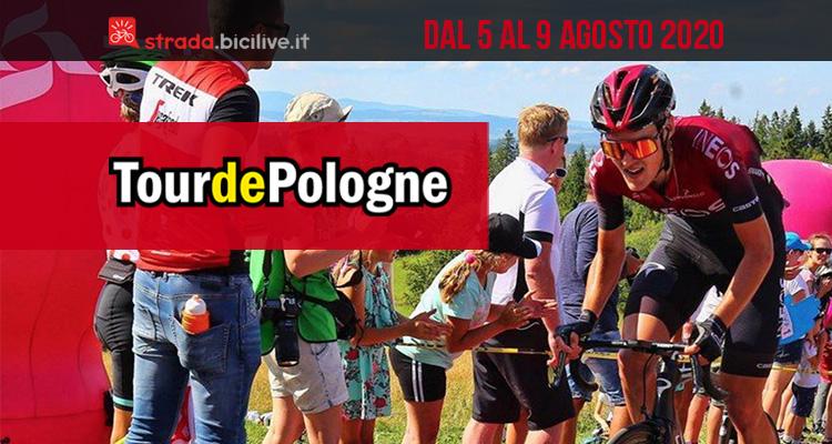 Copertina con il vincitore della scorsa edizione del Giro di Polonia